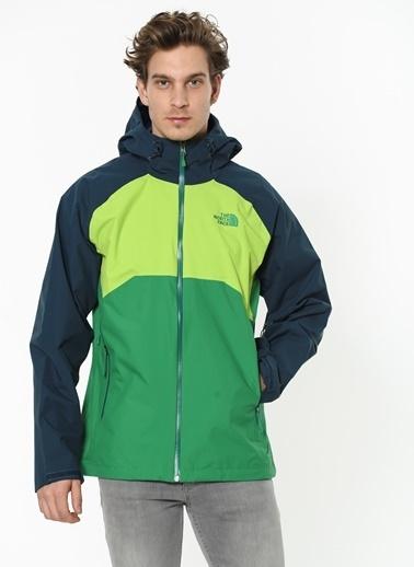The North Face Erkek Stratos Ceket T0Cmh96Wb Yeşil